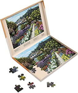 Relish 63 Piece Monet's Garden Jigsaw - Puzzle Game for Alzheimer's/Dementia