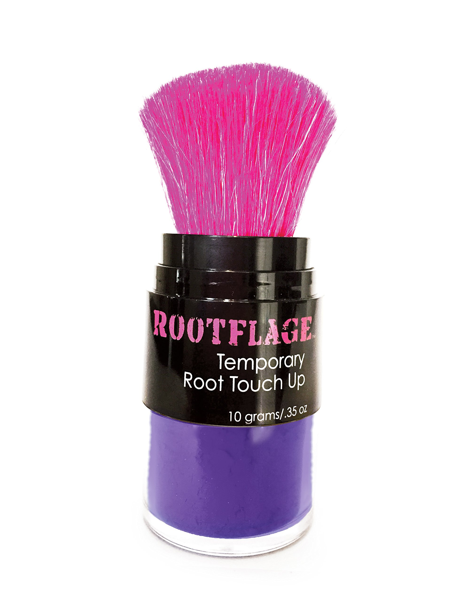 Temporary Fun Purple Hair Color- Works on Dark Hair- Washes Out in 1 Shampoo (07 Purple Reign) by Rootflage