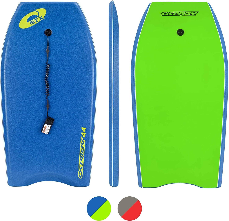 "Complete Osprey Boogie Board Package with Leash 42/"" Kids//Adults Bodyboard"