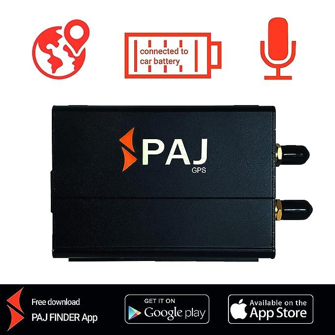 Localizador GPS - protección antirrobo - localización gsm y GPS - Professional Finder de PAJ - Marca Alemana - Variante localización SMS: Amazon.es: ...