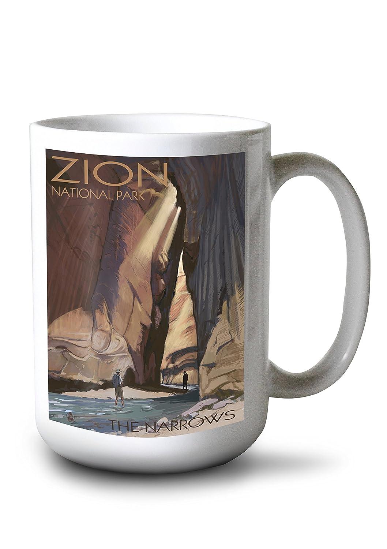 正規品! ザイオン国立公園 – The Mug Narrows Metal 12 15oz x 18 Metal Sign LANT-31062-12x18M B077RST6G2 15oz Mug 15oz Mug, 水晶工房 Crystal Factory:00bf90b2 --- 4x4.lt