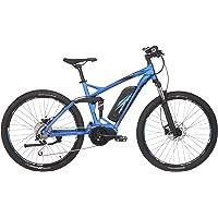 "Fischer E-Bike Mountain EM 1862.1 (2019), brillantblau matt, 27,5"", RH 48 cm, Mittelmotor 80 Nm, 48 Volt Akku, 557 Wh"