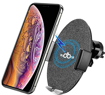 Wireless Car Charger Infrared Sensor Mount Automatic Clamping Cell Phone Holder Compatible with iPhone X//Xs//Xr// 8//8 Plus /& Samsung Galaxy s9//s9 plus//s8//s7//Note 9 and More QI-Enabled Smartphone PUYEOLEN