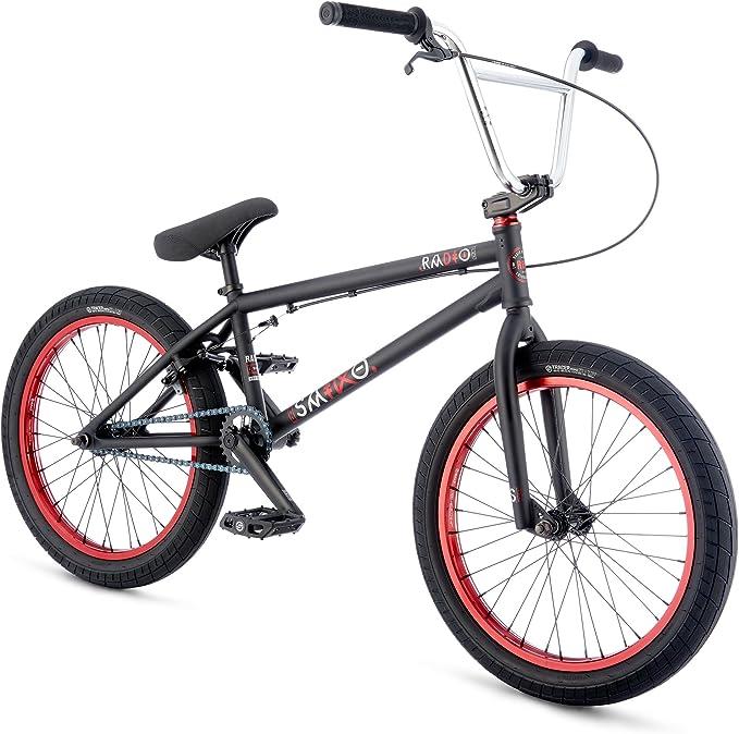 Radio Bikes Saiko Bicicleta BMX, Unisex Adulto, Negro, 20.6 ...