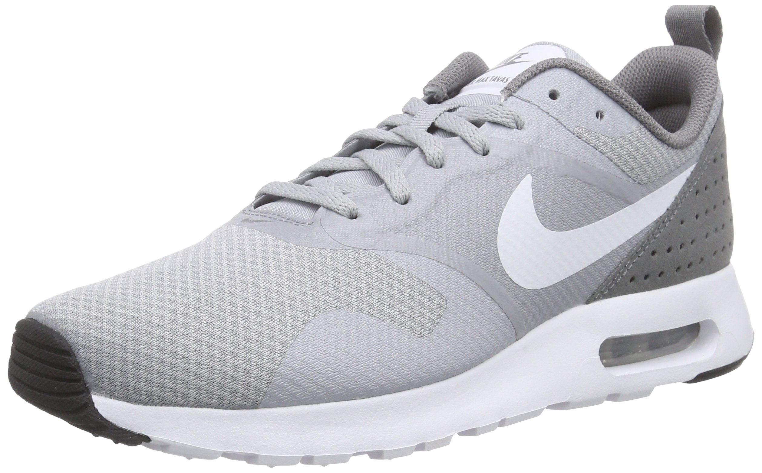 brand new 7e026 68e67 Galleon - Nike Air Max Tavas Mens Running Trainers 705149 Sneakers Shoes  (US 8.5, Wolf Grey White Cool Grey White 007)
