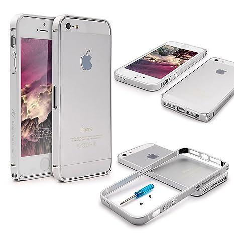 Urcover® Bumper iPhone SE / 5 / 5s Carcasa Protectora ...