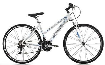 Bicicleta Cicli Cinzia Fitness para mujer, con marco de aluminio, cambio de 21