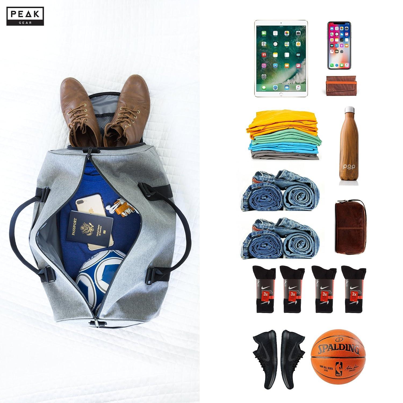 The Weekender Duffel Bag – Travel Bag Duffle Bag – Lifetime Lost Found ID