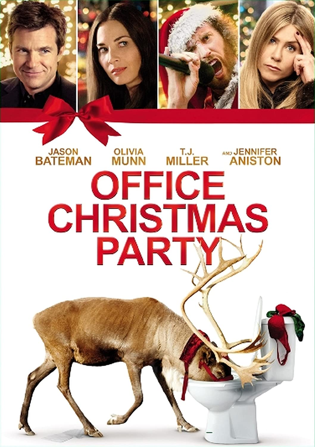 Amazon.com: Office Christmas Party [DVD]: Jason Bateman, Olivia Munn ...