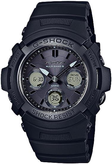 Reloj Casio G-shock el mundo seis estaciones correspondiente solar Radio awg-m100sbb-1ajf hombre: Amazon.es: Relojes