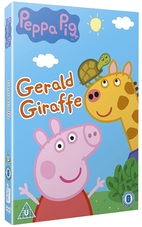 Peppa Pig: Gerald Giraffe [DVD]: Amazon.co.uk: Joris van Hulzen: DVD &  Blu-ray