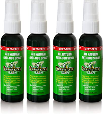 Skedattle - Repelente de Insectos Natural Fabricado con aceites ...