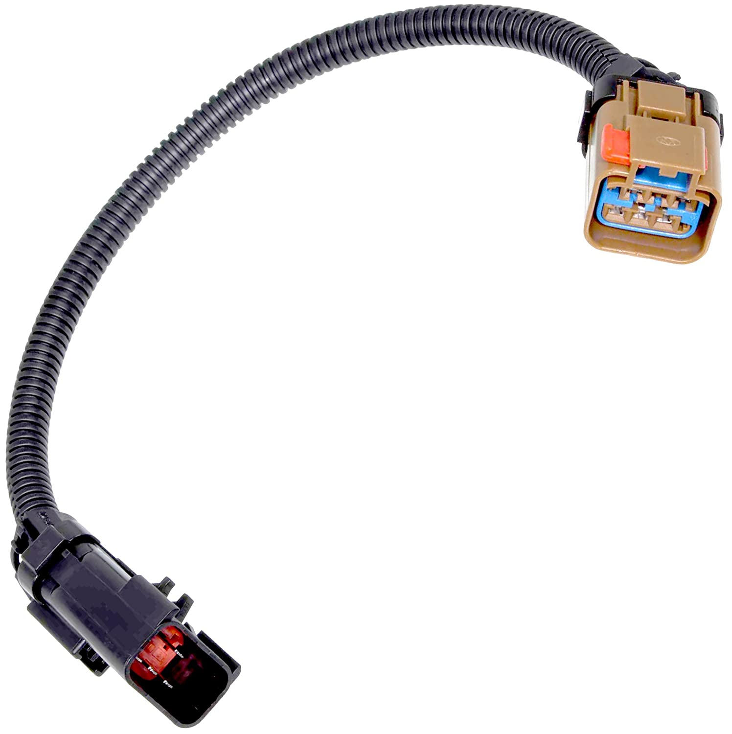 Apdty 112854 Wiring Harness Pigtail Connector Taillight 4 Prong Trailer Diagram 2003 Dodge Ram 1500 2002 Replaces 55077346aa 55077346ab Automotive