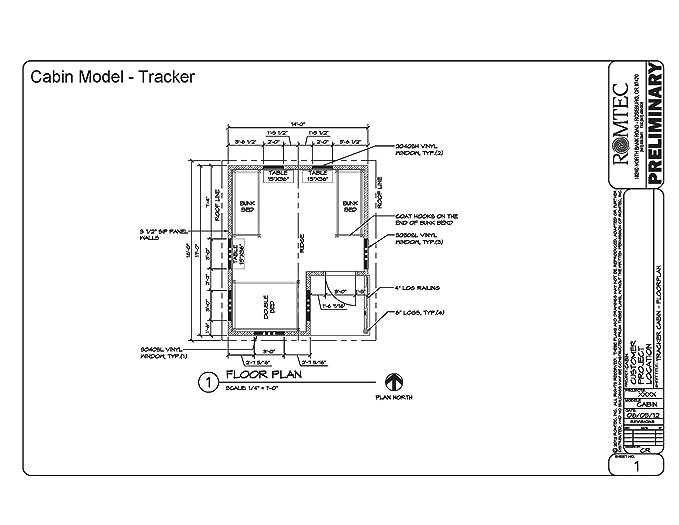 Amazon com : Romtec 2027ES - The Tracker - Prefabricated