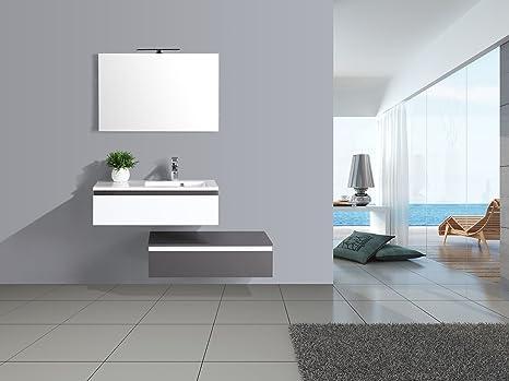 Jindoli colpo di ❤ mobile bagno semplice sottolavello cassetti