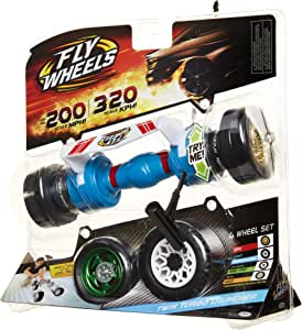Fly Wheels Twin Turbo Launcher- Rip it up to 200 Scale MPH, Fast Speed, Amazing Stunts & Jumps up to 30 feet! All Terrain Action: Dirt, Mud, Water, Snow- One of The Hottest Wheels Around!