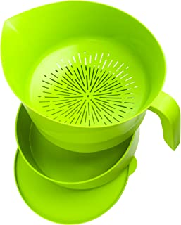 product image for Easy Greasy Strain & Save Kitchen Colander