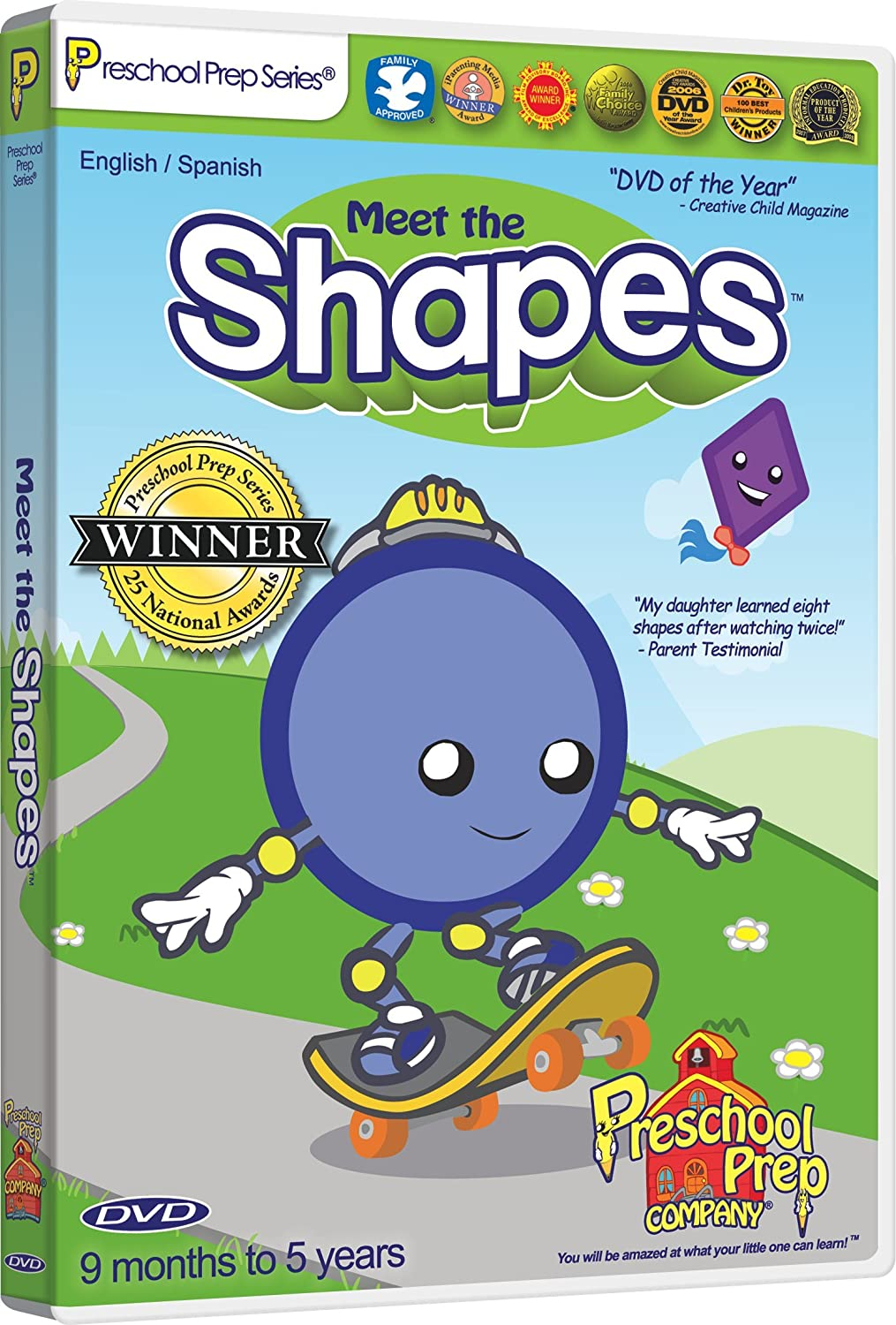Amazon.com: Meet the Shapes DVD: Animation, Kathy Oxley: Movies & TV