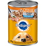 Pedigree 10153614 Traditional Ground Dinner Chopped Chicken 12x375g, 12 Can, Regular