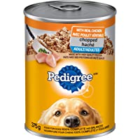 PEDIGREE CHOPPED Adult Wet Dog Food, Chicken 375g (12 Pack)