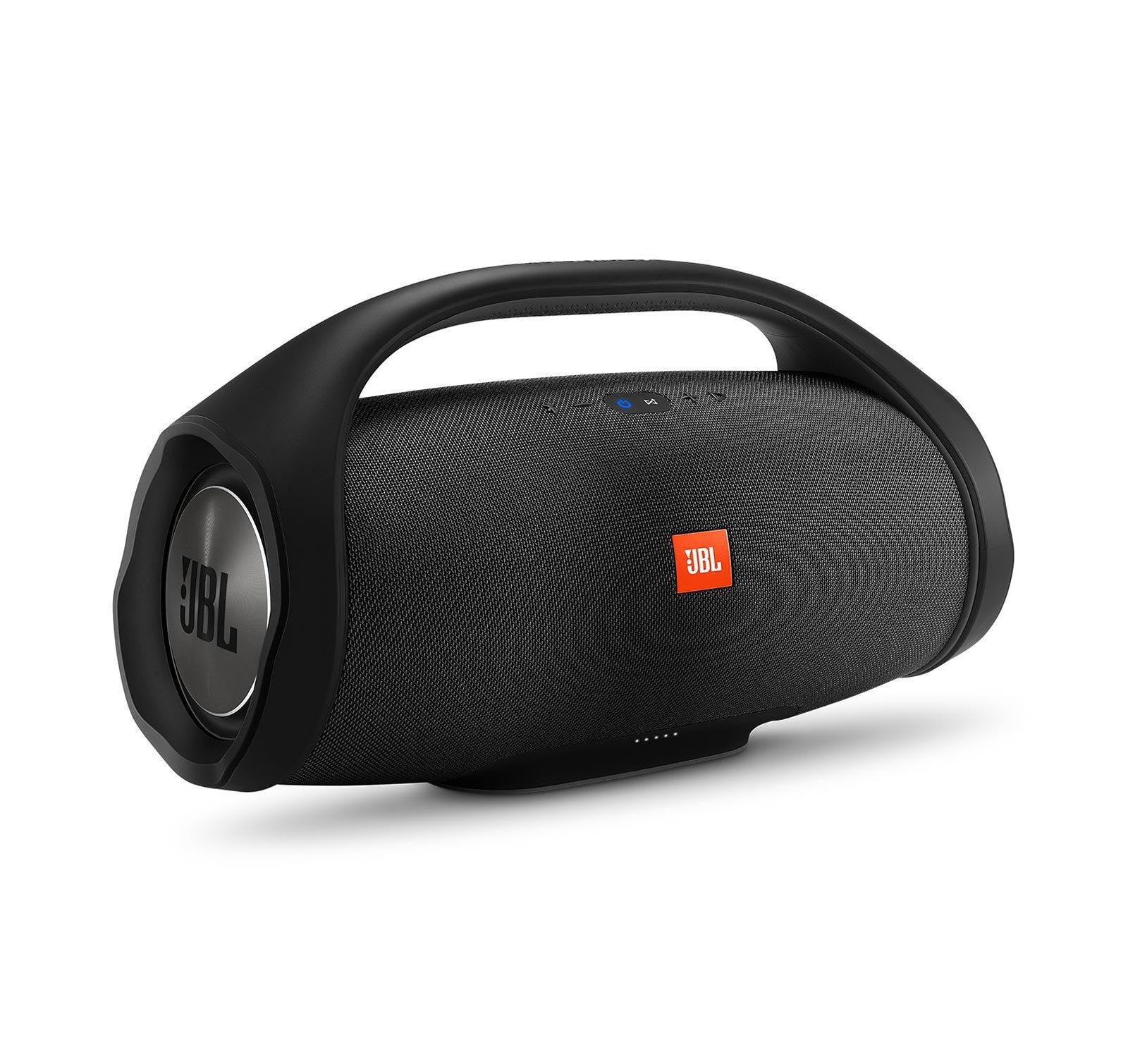 JBL Boombox Portable Bluetooth Waterproof Speaker Bundle with Hardshell Storage Case (Black) by JBL (Image #3)