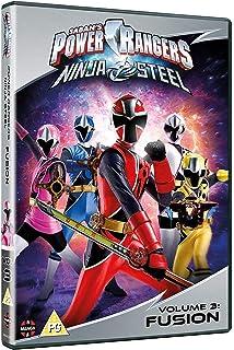 Power Rangers-Super Ninja Steel 3 Dvd Edizione: Stati Uniti ...