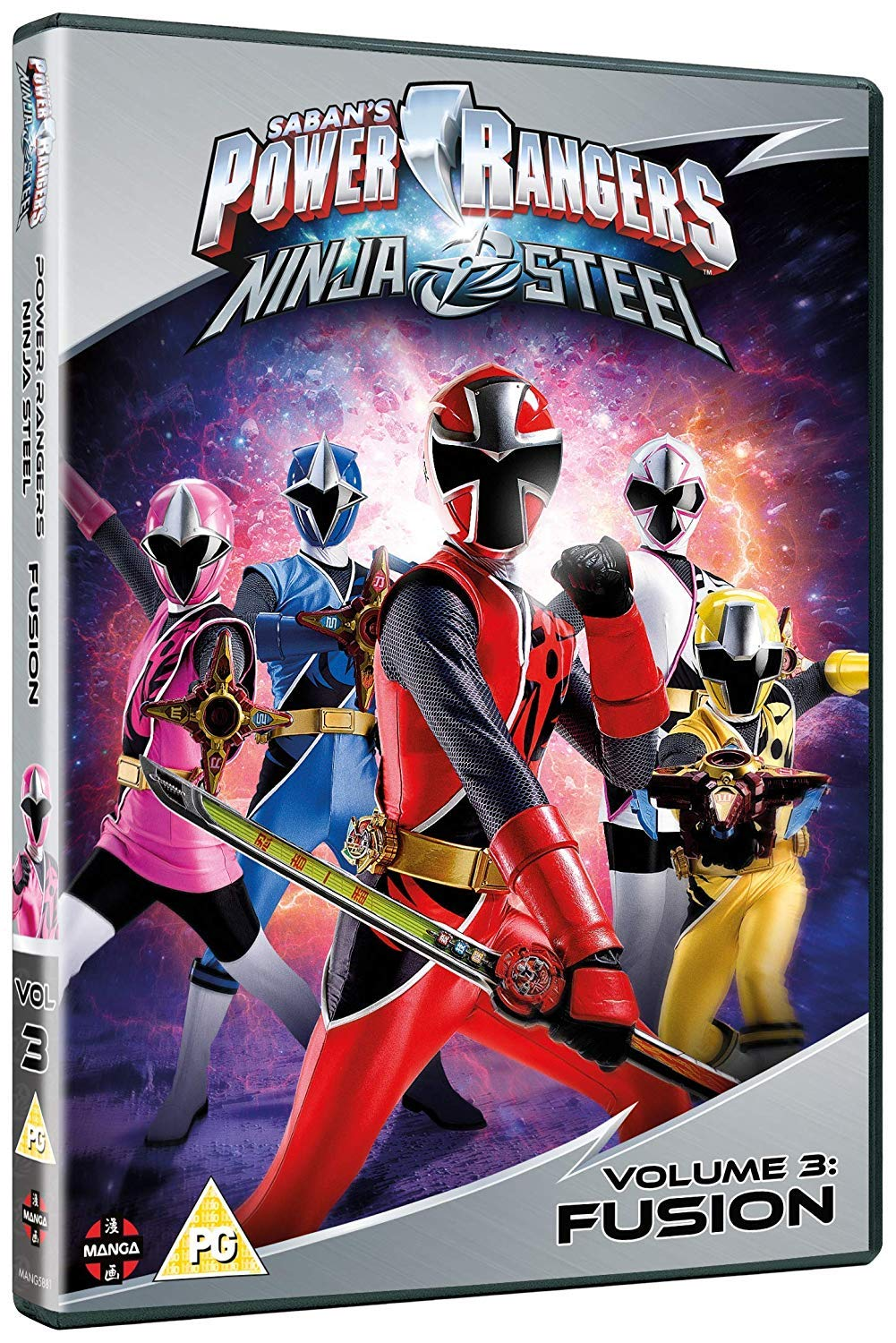 Power Rangers Ninja Steel: Fusion Volume 3 Episodes 9-12 DVD ...