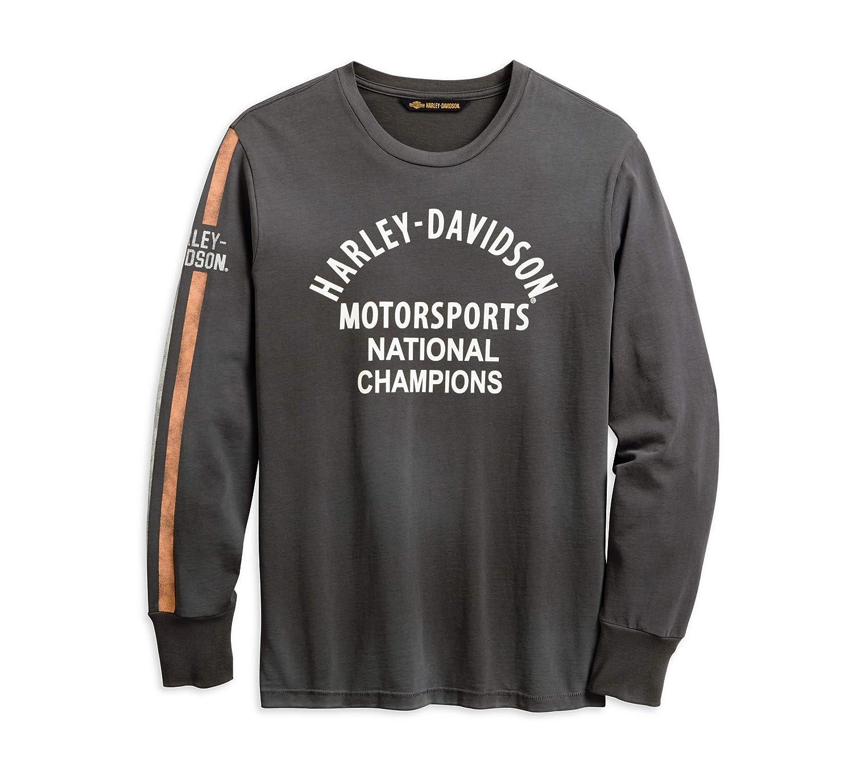Harley-Davidson Mens Motorsports Sleeve Stripe Tee
