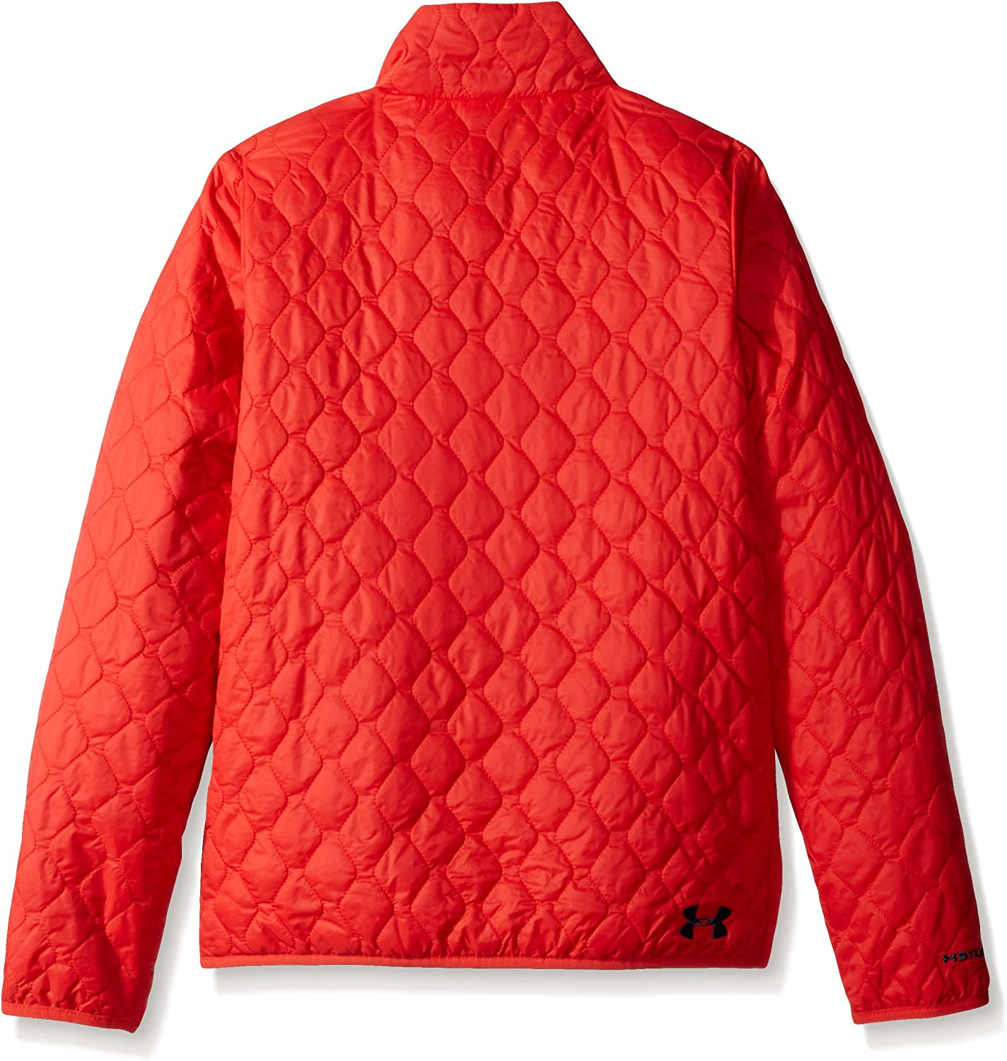 Pomegranate 693 Youth Large //Mechanic Blue Under Armour Girls ColdGear Infrared Hillcrest Hooded Shell