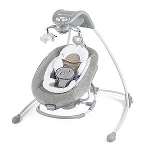 Ingenuity DreamComfort InLighten Cradling Swing & Rocker