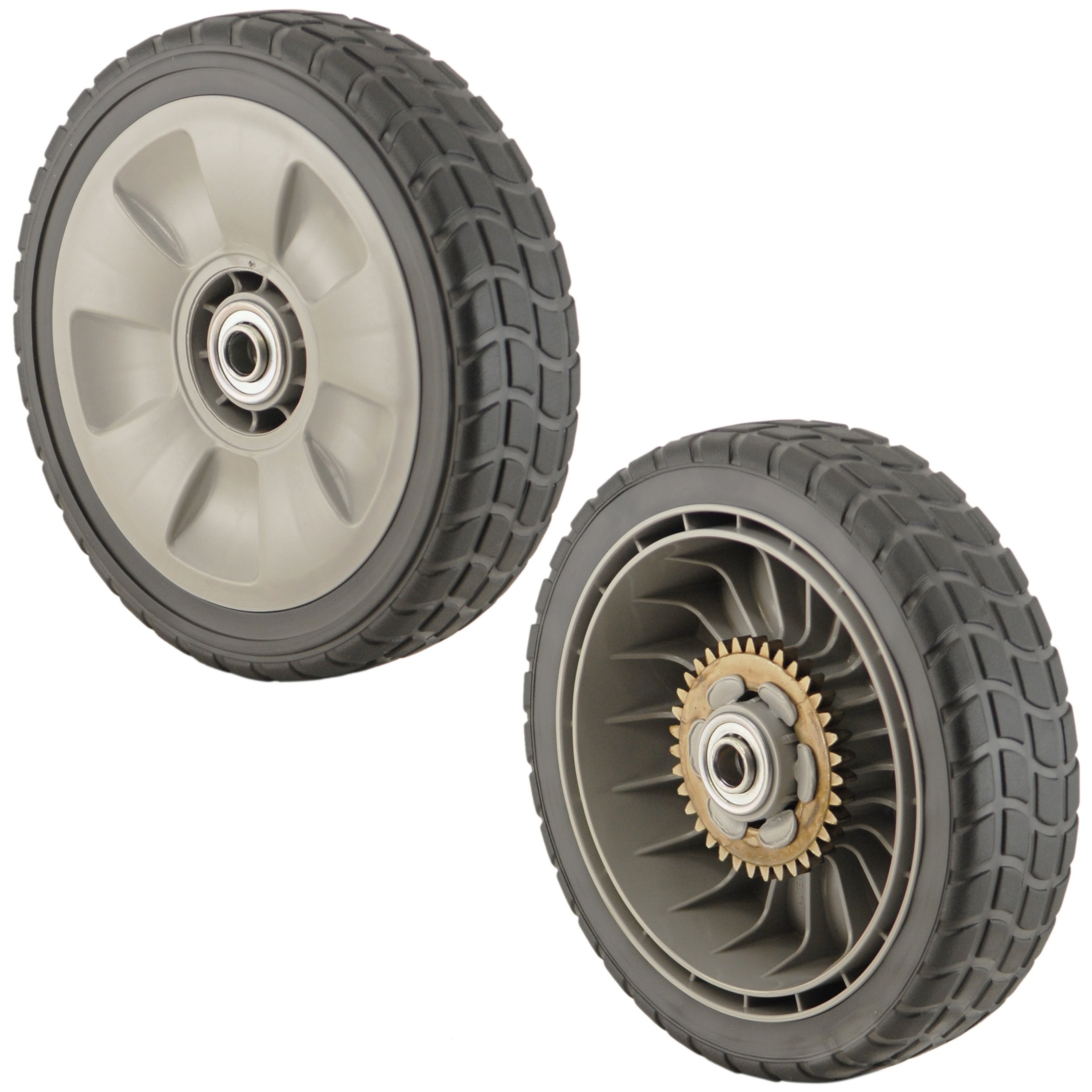 Lawn Tractor Rear Rims : Honda ve m ze lawn mower rear wheel set of ebay