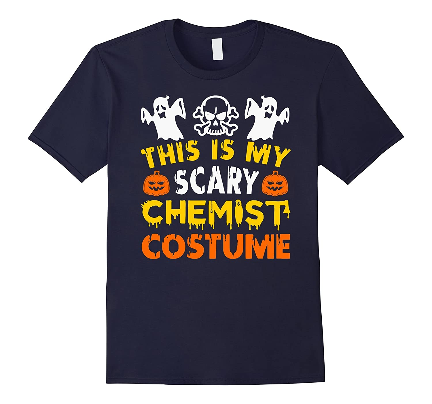 This is My Scary Chemist Costume Halloween tee shirt-PL