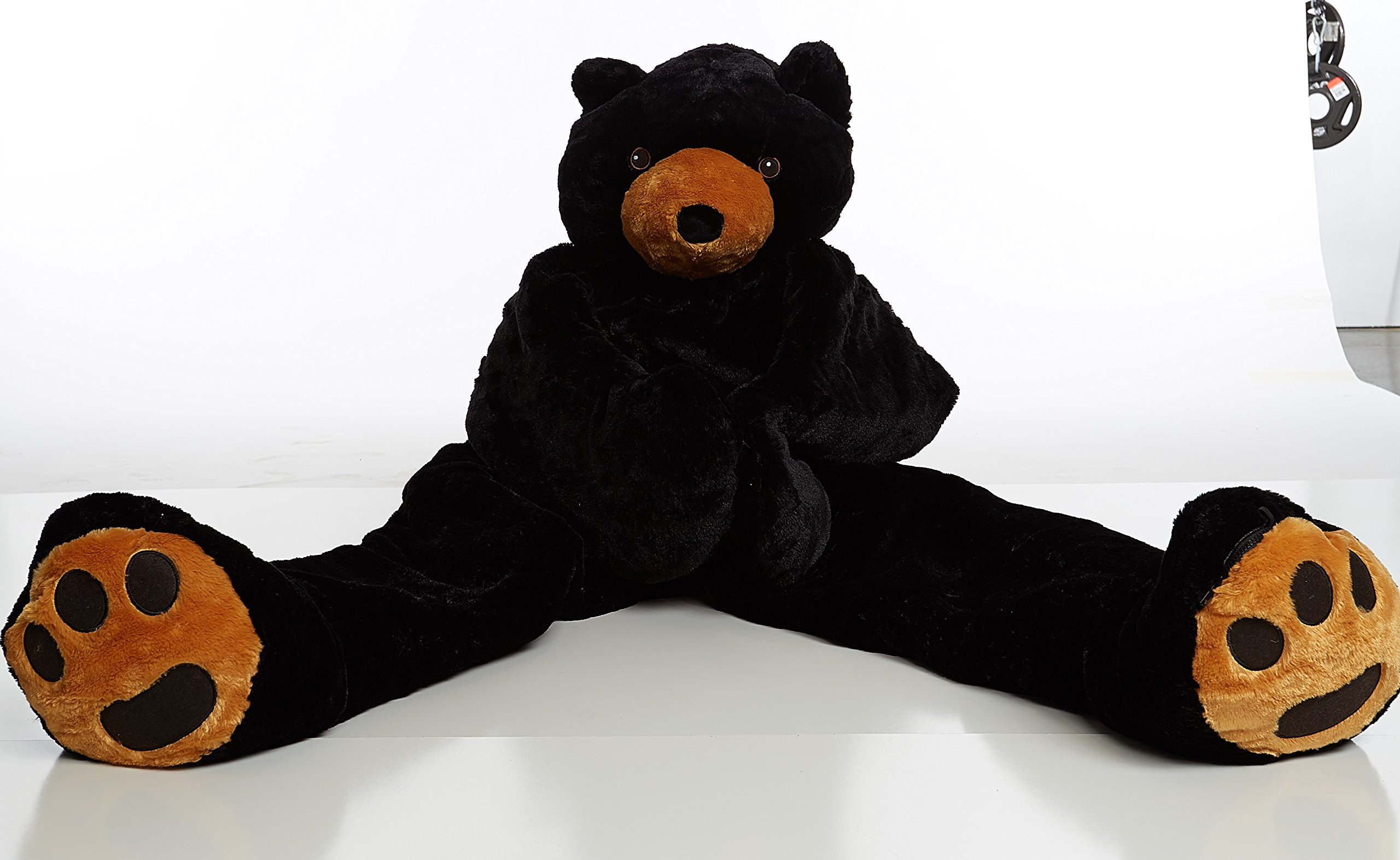 Adult Black Bear SnooZzoo sleeping bag for adults up to 75 inches tall.