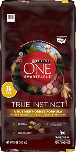Purina ONE SmartBlend True Instinct Natural Adult Dry Dog Food Dog Treat