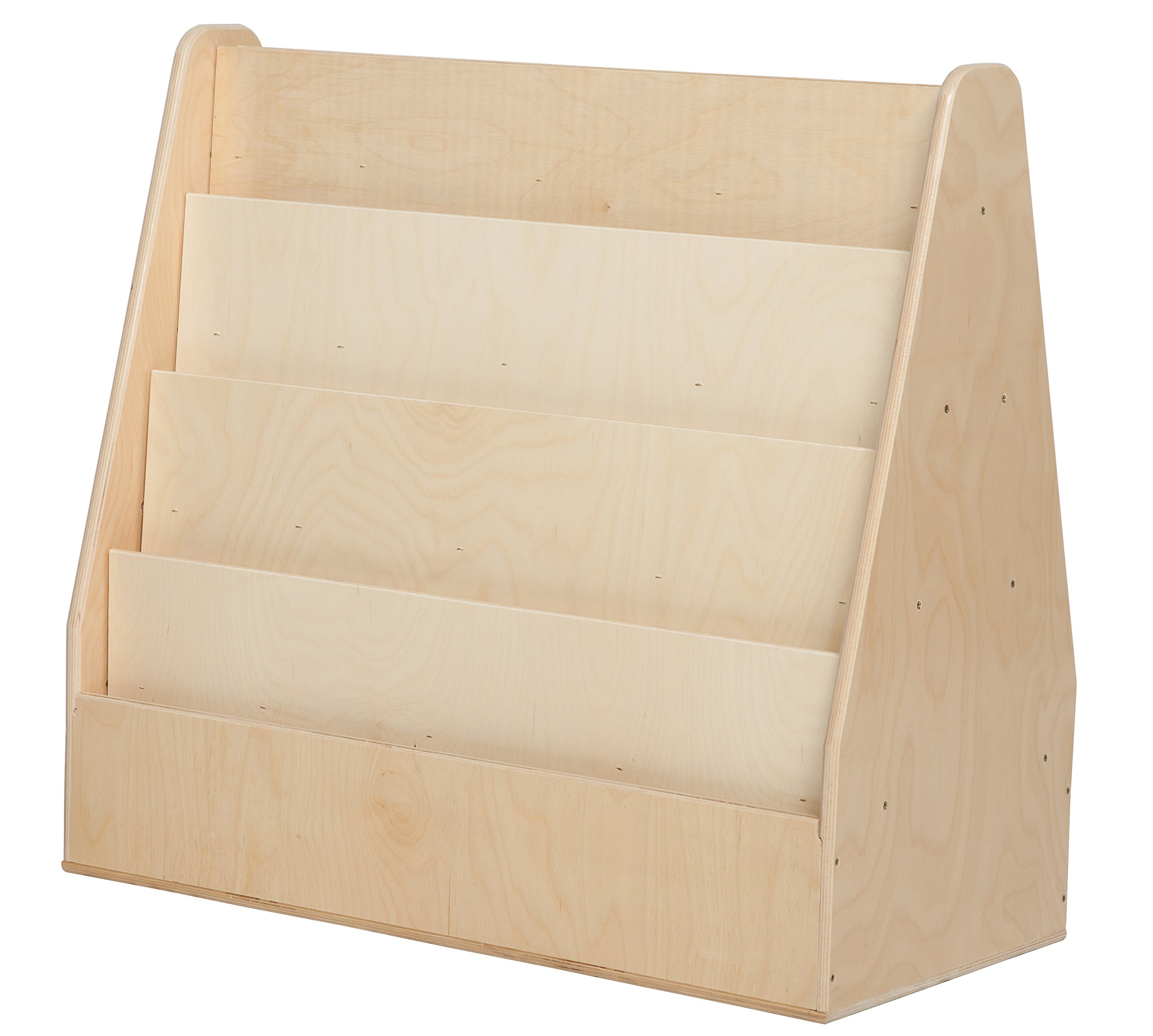 Wood Designs 34200 Double Sided Book Display, 29'' Height, 32'' Width, 17'' Length