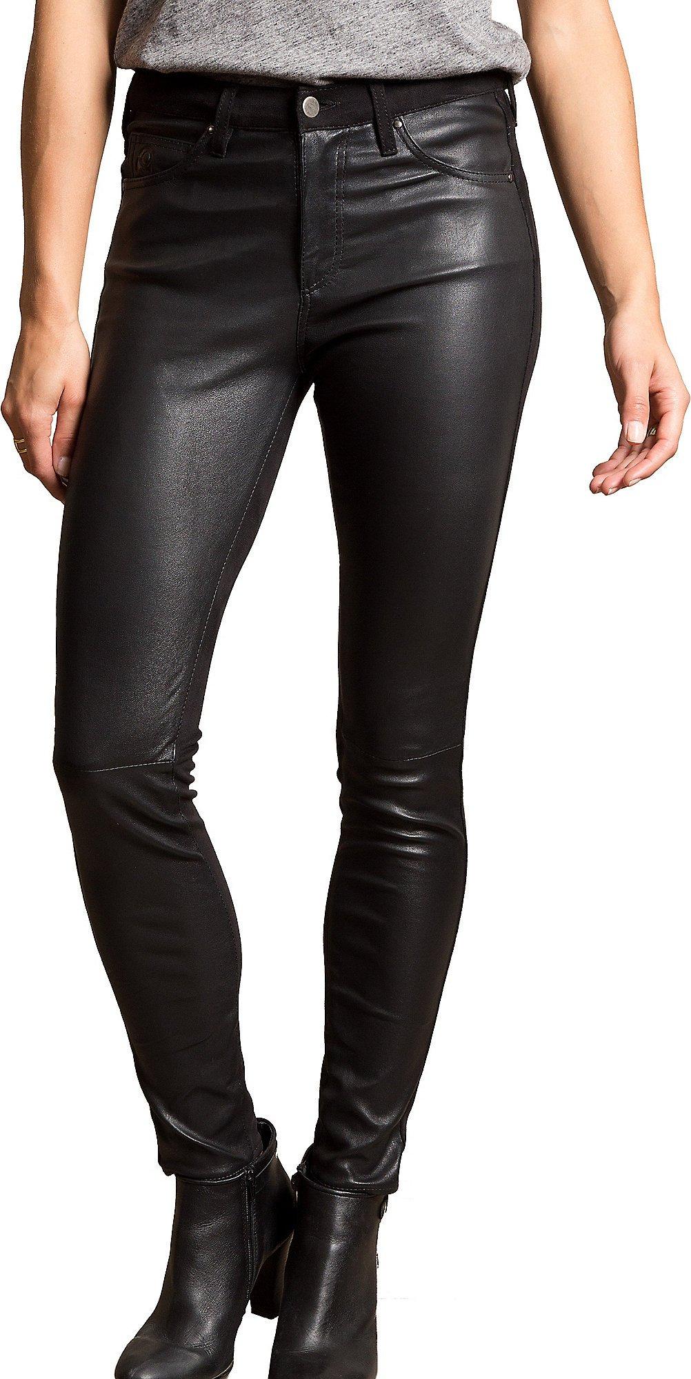 Overland Sheepskin Co Leather Stretch Leggings