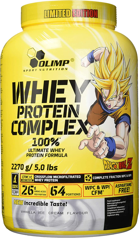 Whey Protein Complex Dragon Ball Z - 2.2Kg - Sabor Vainilla