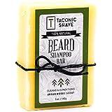 Taconic Shave Beard Shampoo Bar - All Natural/Handcrafted - 5 Oz.