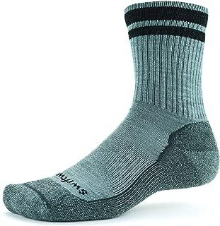 product image for Swiftwick- PURSUIT HIKE SIX LT Hiking Socks, Lightweight Merino Wool, Mens and Womens