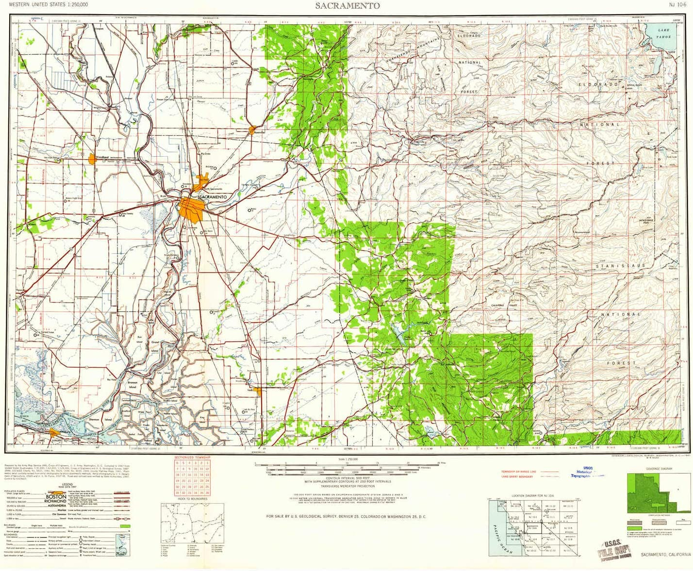 amazon com yellowmaps sacramento ca topo map 1 250000 scale 1 x 2 degree historical 1947 updated 1961 24 1 x 30 2 in paper sports outdoors yellowmaps sacramento ca topo map 1 250000 scale 1 x 2 degree historical 1947 updated 1961 24 1 x 30 2 in