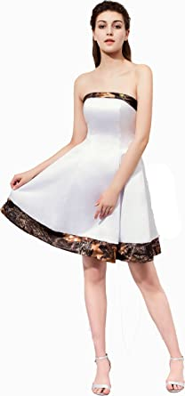 Angelsbridep Camo Short Prom Dress