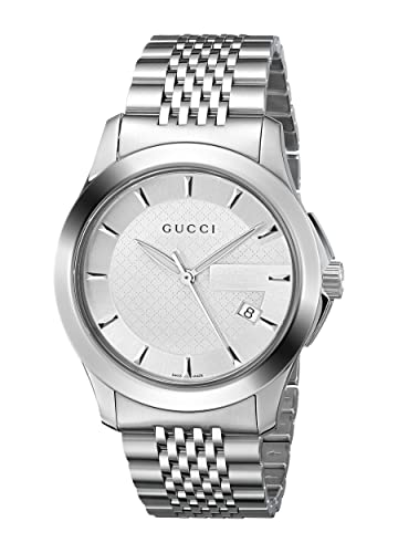65e383ea0da Gucci G TIMELESS Men s Watch YA126401  Frida Giannini  Amazon.co.uk  Watches