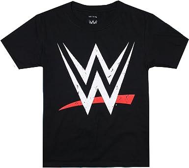 WWE Logo Camiseta para Niños: Amazon.es: Ropa y accesorios