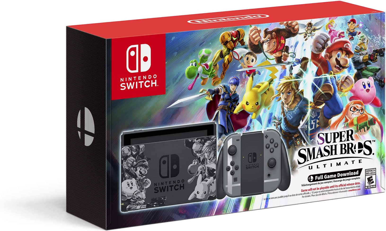 Amazon Com Nintendo Switch Super Smash Bros Ultimate Edition