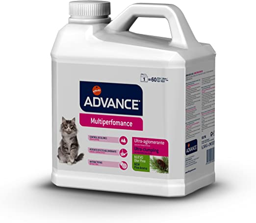 Advance Multiperformance-Arena Aglomerante para Gatos 6,36Kg, Un ...