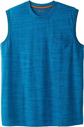 Boulder Creek by Kingsize Mens Big /& Tall Heavyweight Pocket Muscle Tee Shirt