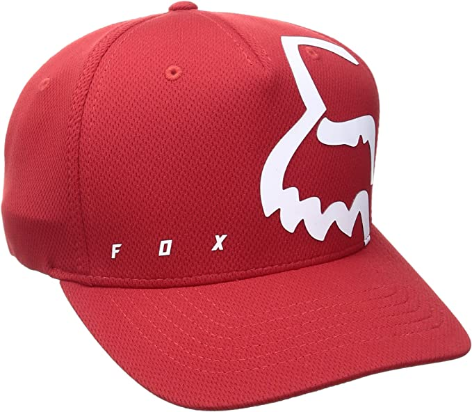 FOX Gorra Flexfit Visera Redondeada Eyecon Flame Rojo (L/XL, Rojo ...