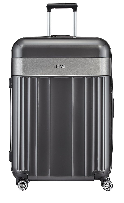 TITAN Spotlight Flash 4w L, Anthracite, 831404-04 Bagage Cabine, 76 cm, 102 liters, Gris (Anthrazit)
