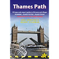 Thames Path: Trailblazer British Walking Guide: Thames Head to the Thames Barrier (London) - 99 Large-Scale Maps & Guide