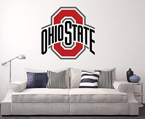 Amazon.Com: Ohio State Buckeyes Wall Decal Home Decor Art College